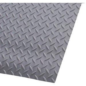 """3' x 75' 3/16"""" Switchboard Diamond Deckplate Gray"""