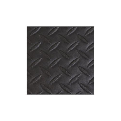 "4' x 60' 1/2"" Diamond Deluxe Soft foot Black"