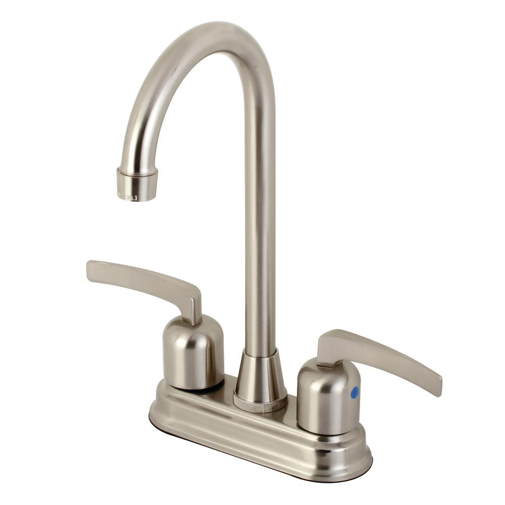 Kingston Brass KB8498EFL Centurion Bar Faucet, Brushed Nickel