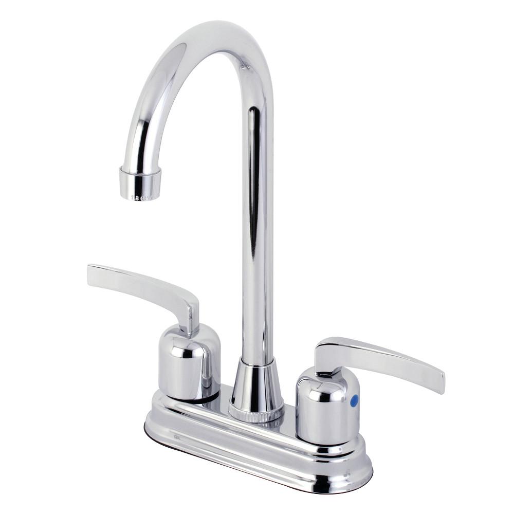 Kingston Brass KB8491EFL Centurion Bar Faucet, Polished Chrome
