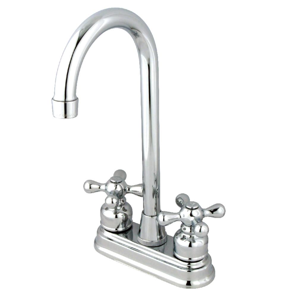 Kingston Brass KB491AX Bar Faucet, Polished Chrome