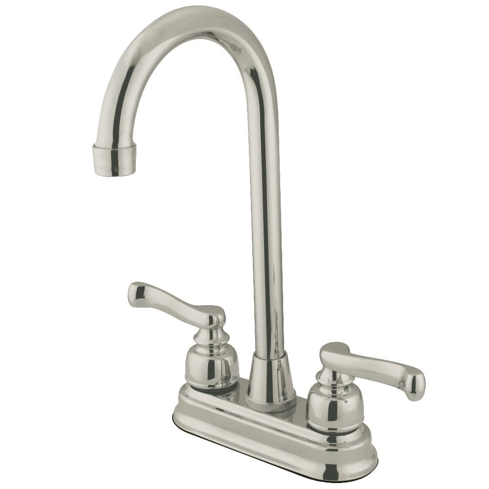 Kingston Brass KB8498FL Bar Faucet, Brushed Nickel