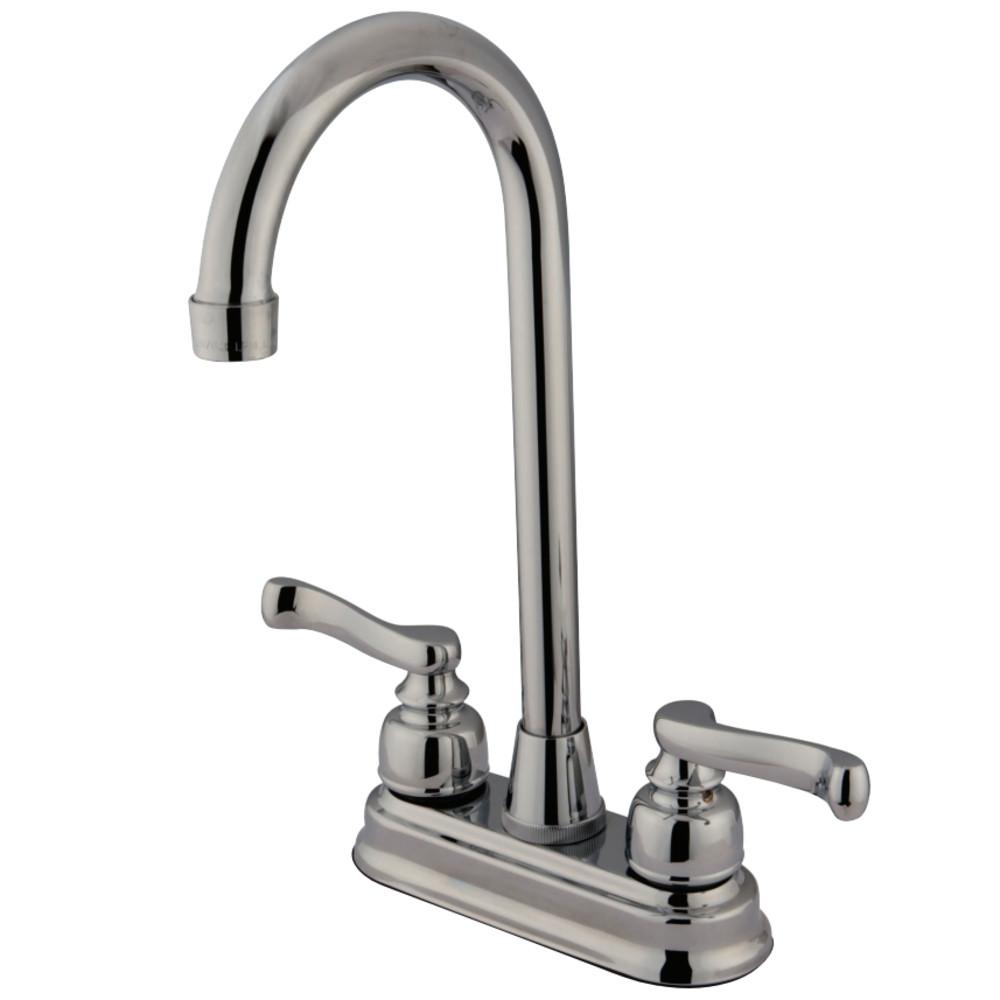 Kingston Brass KB8491FL Bar Faucet, Polished Chrome