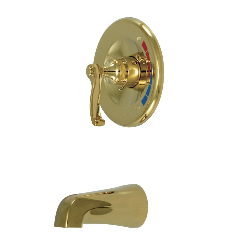 Kingston Brass KB8632FLTO Royale Tub Only, Polished Brass