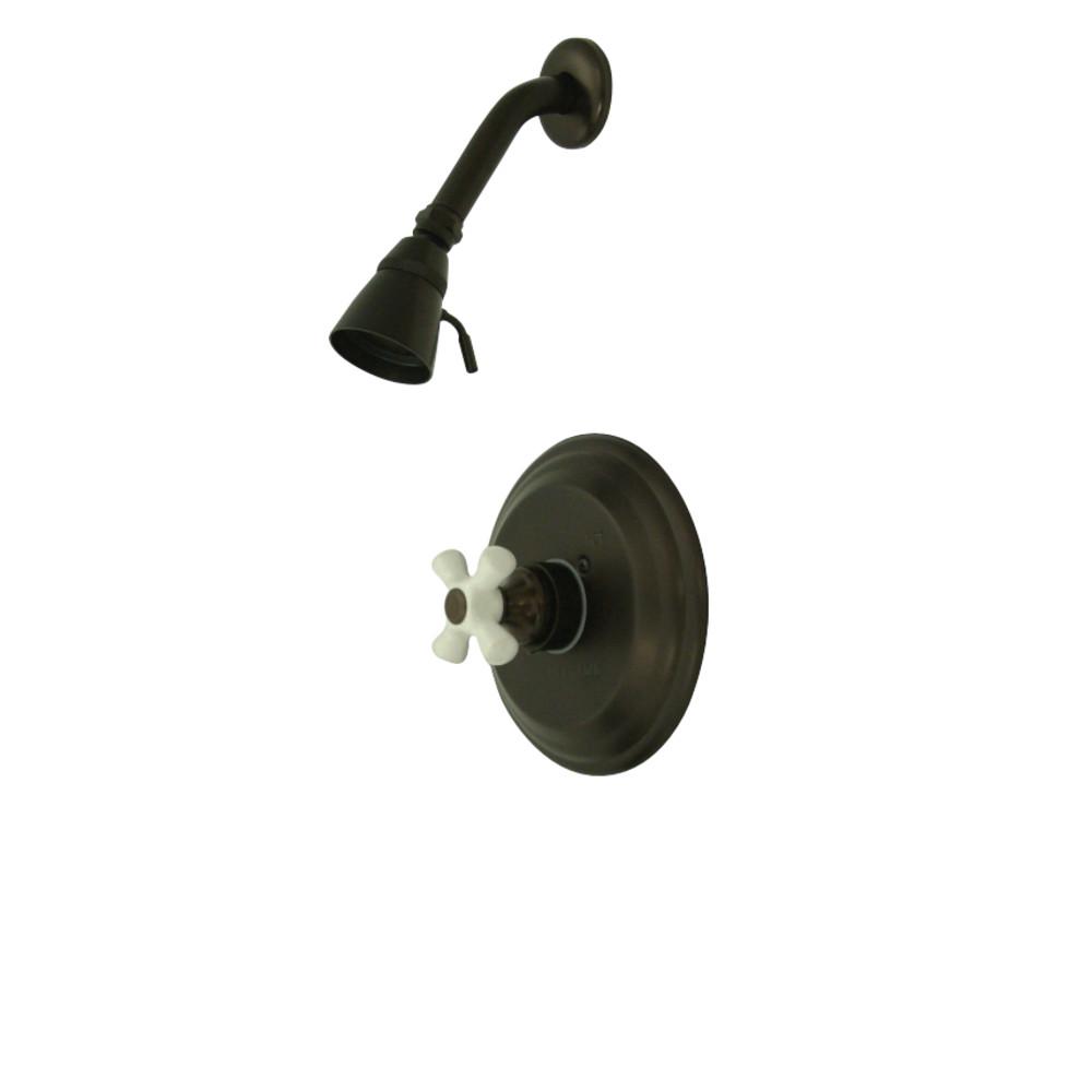 Kingston Brass KB3635PXSO Restoration Pressure Balanced Shower Faucet, Oil Rubbed Bronze