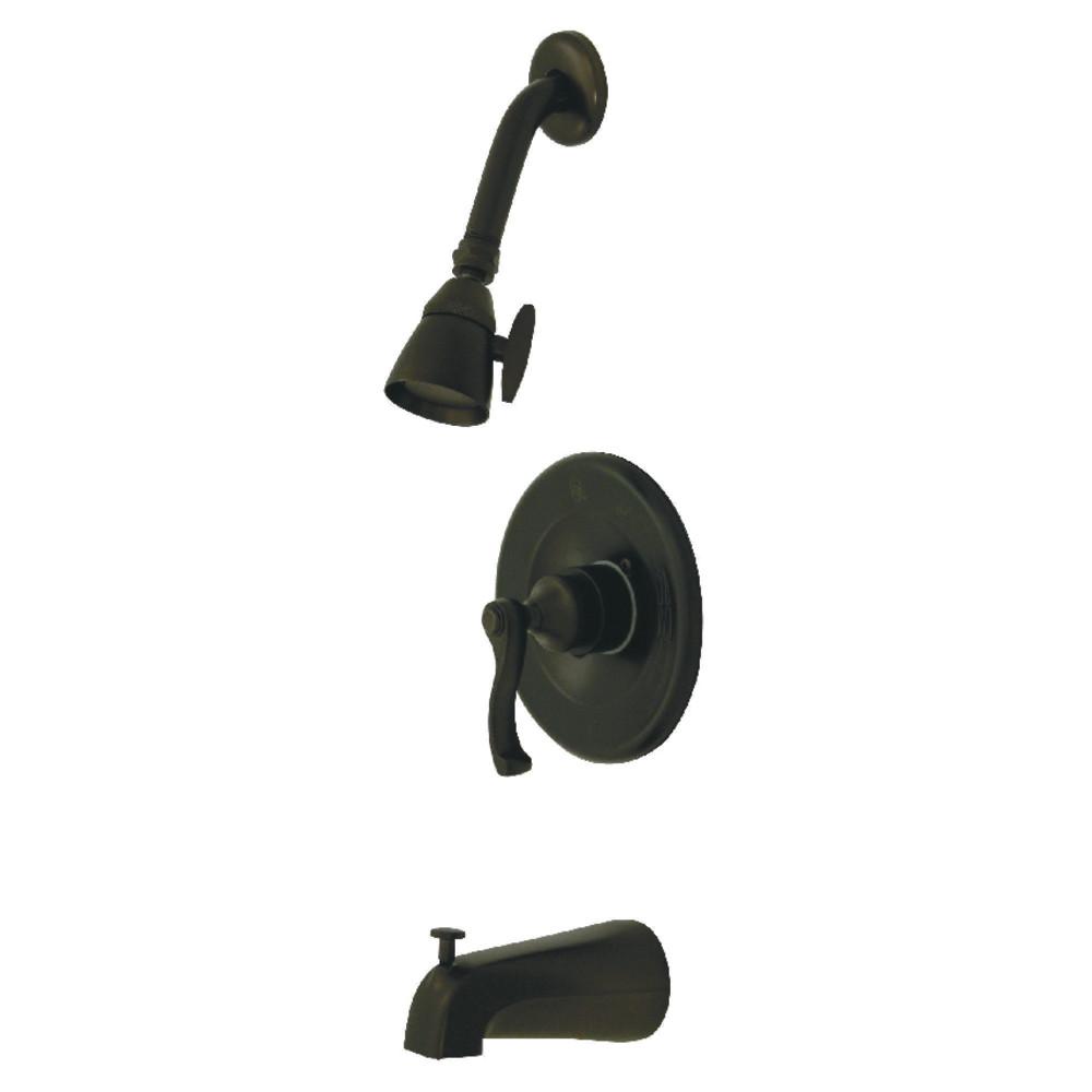 Kingston Brass KB8635FLT Tub and Shower Trim Only for KB8635FL, Oil Rubbed Bronze