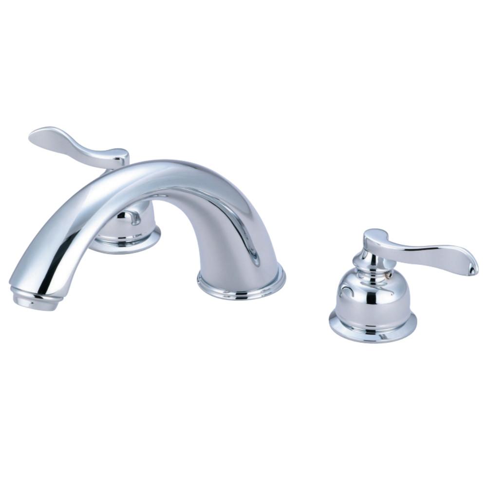 Kingston Brass KB8361NFL NuWave French Roman Tub Faucet, Polished Chrome