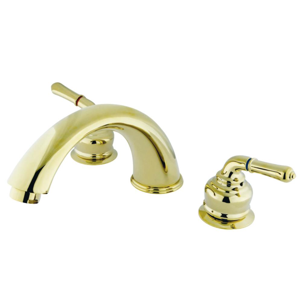 Kingston Brass KB362 Magellan Roman Tub Faucet, Polished Brass