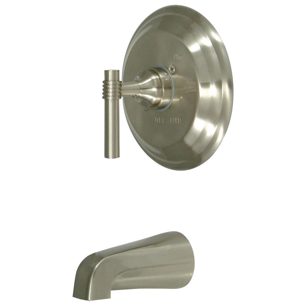 Kingston Brass KB2638MLTO Milano Tub Only, Brushed Nickel