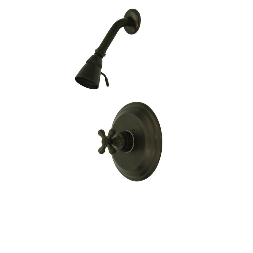Kingston Brass KB3635AXSO Restoration Pressure Balanced Shower Faucet, Oil Rubbed Bronze
