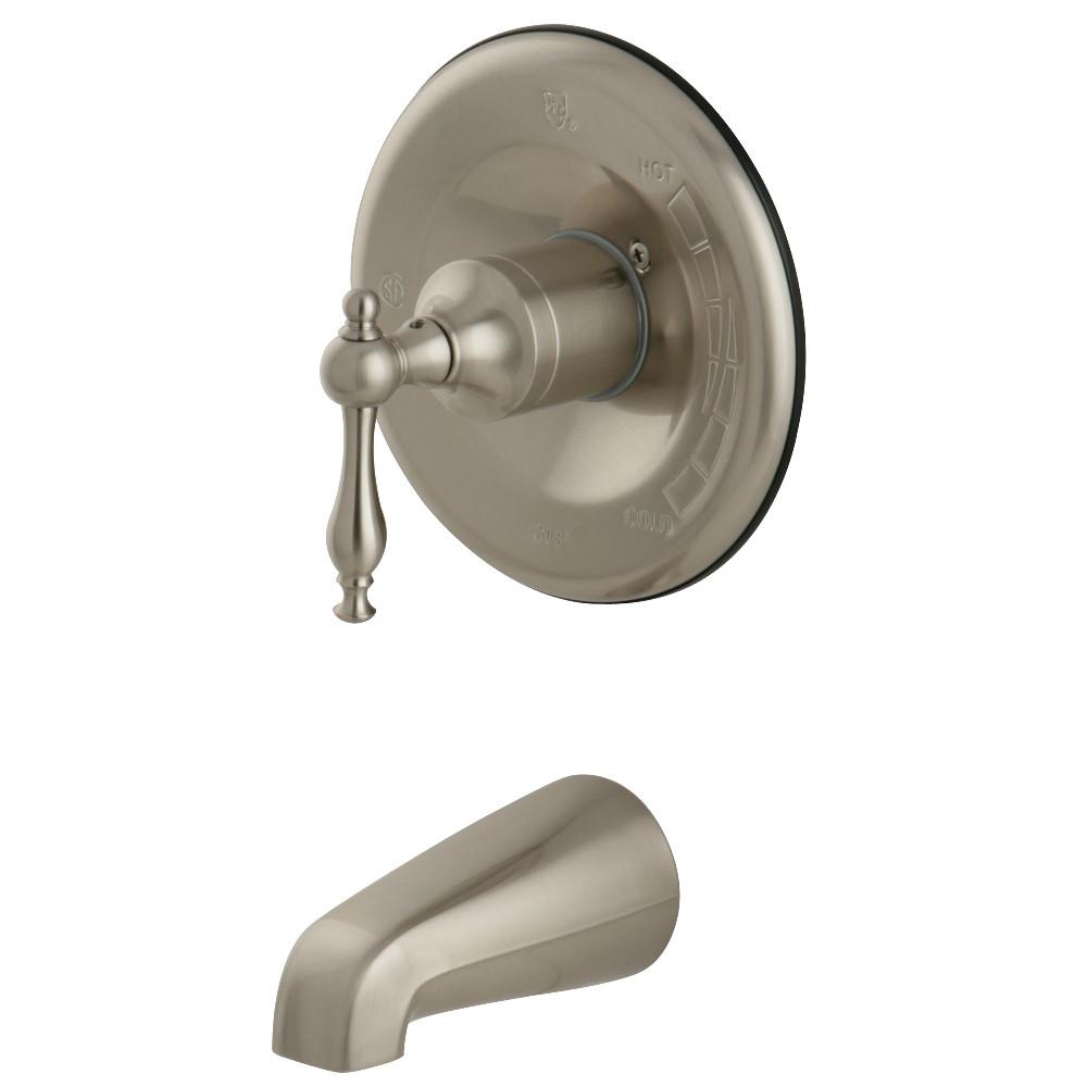 Kingston Brass KB1638NLTO Tub Only, Brushed Nickel