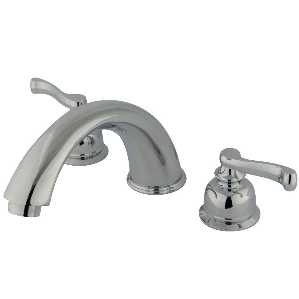 Kingston Brass KB361FL Roman Tub Faucet, Polished Chrome