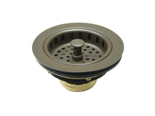 Kingston Brass KBS1005 Heavy Duty Kitchen Sink Waste Basket, Oil Rubbed Bronze