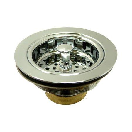 Kingston Brass KBS1001 Heavy Duty Kitchen Sink Waste Basket, Polished Chrome