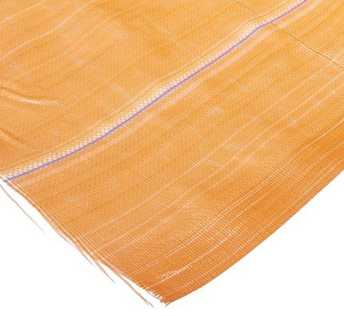 "MISF 1845 Polyethylene Silt Fence Fabric, 500' Length x 36"" Width, Orange"
