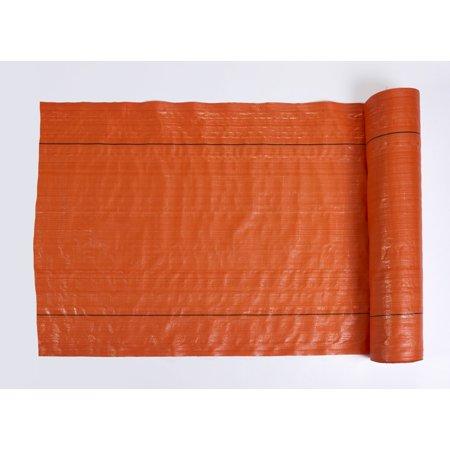 "MISF1845 Polyethylene Silt Fence Fabric, 500' Length x 48"" Width, Orange"