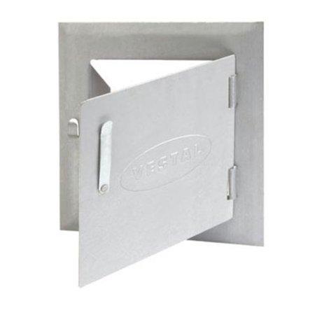 8X8 Steel Clean Out Door