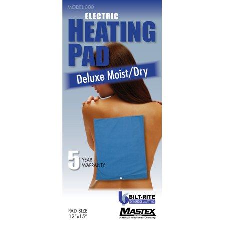 Deluxe Moist/Dry Heat Pad - 5 Year Warranty