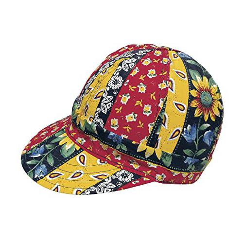 "Kromer Daisy Chain Style Welder Cap 7 3/ 8, Cotton, Length 5"", Width 6"""