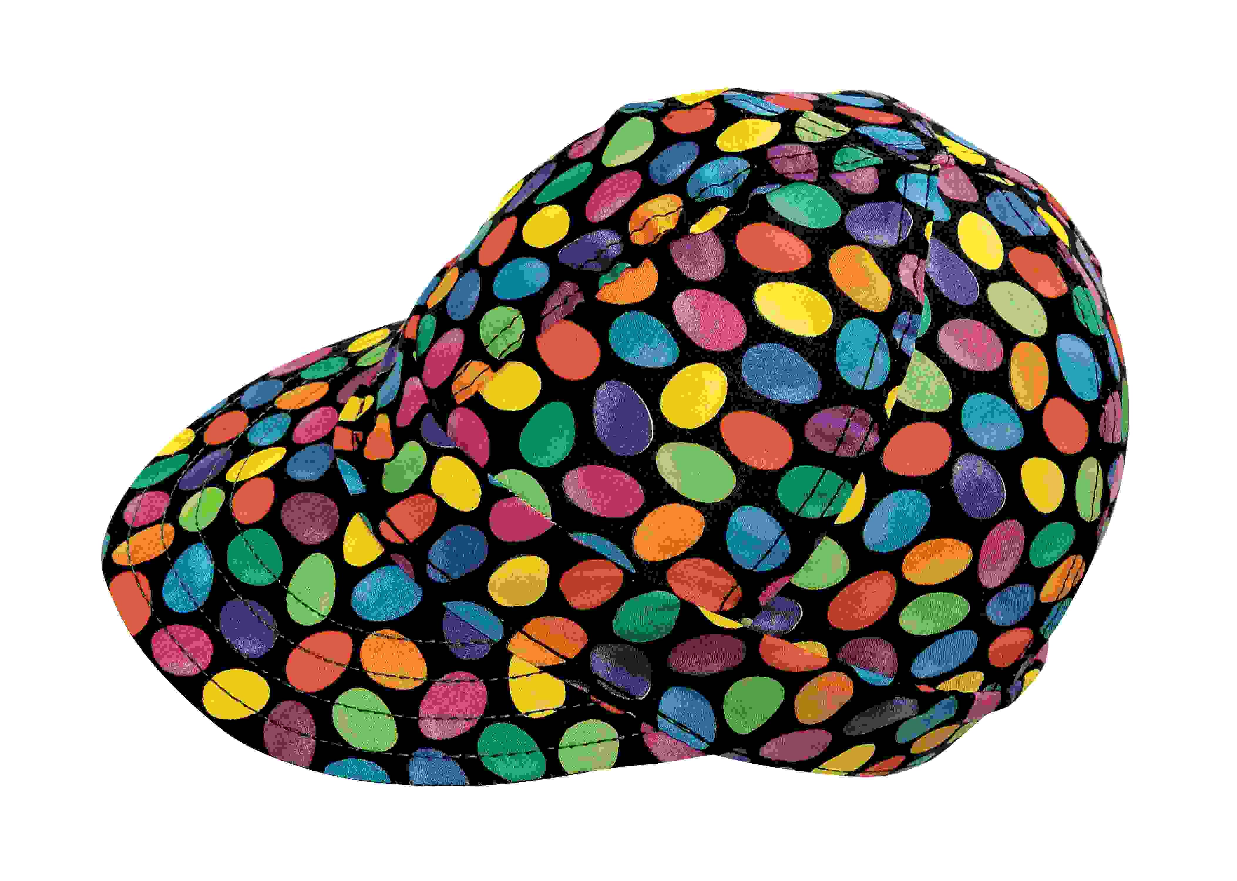 "Kromer Jelly Bean Style Welder Cap 7 1/ 4, Cotton, Length 5"", Width 6"""