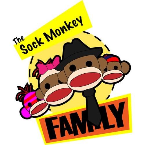 Sock Monkey Family