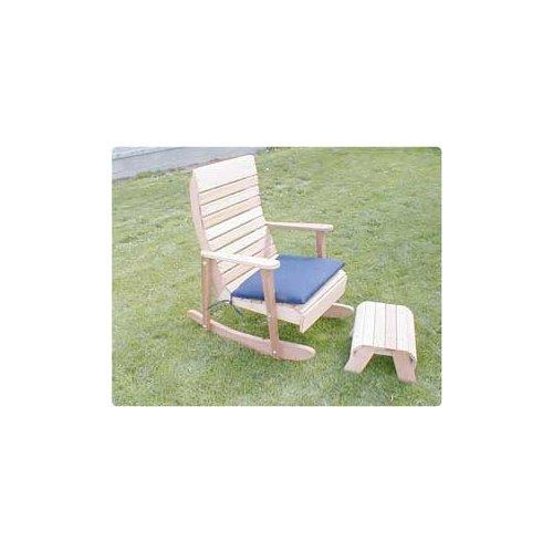2' Royal Highback Rocking Chair