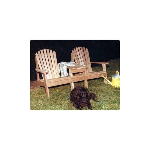 Keystone Adirondack Settee Chair