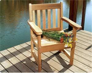 2' English Garden Chair