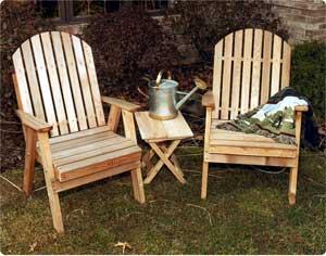 2' Blue Mountain Fanback Chair