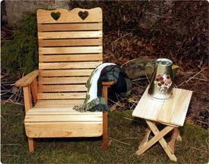 2' Royal Highback Sweetheart Chair