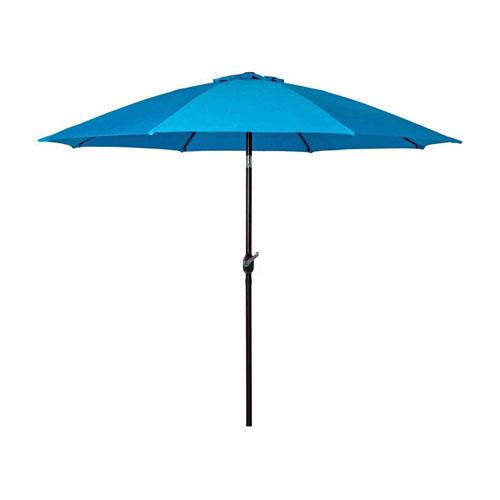 WINDBRELLA™ Auto-Tilt 9-foot Patio/Market Umbrella - Navy