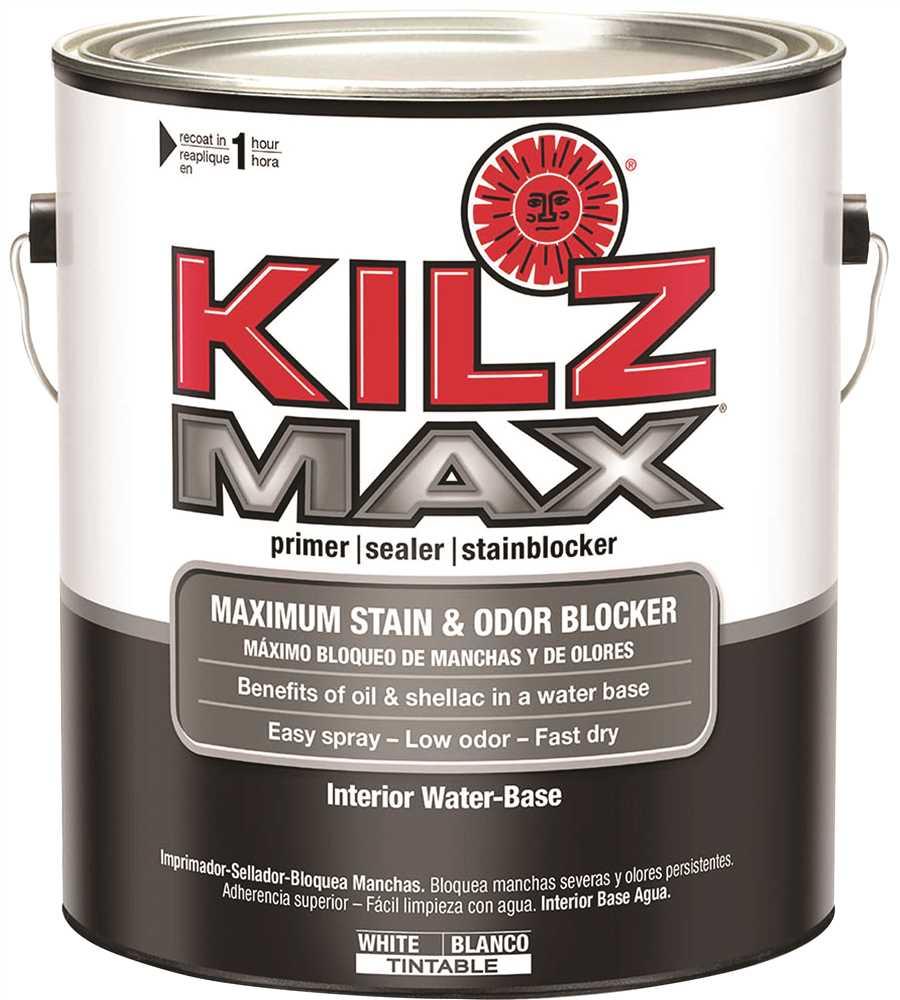 (Open Box) L200211 1G KILZ MAX PRIMER