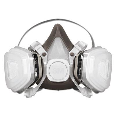 Half Facepiece Disposable Respirator Face Mask Assembly