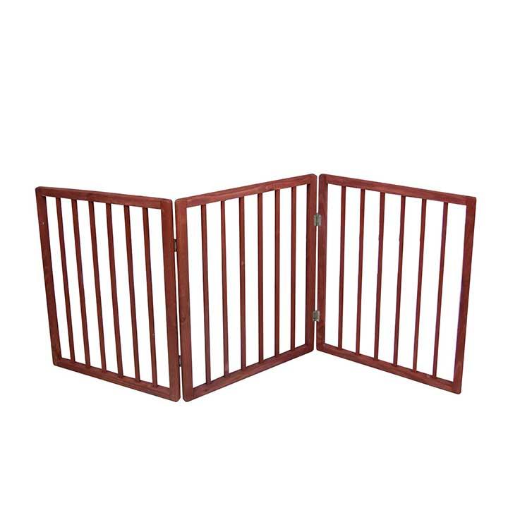 PET PARADE JB5885 FOLDING PET GATE FREE STANDING Z DESIGN