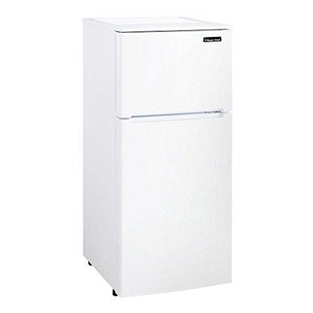 4.3 CuFt 2 Door Refrigerator, 1 CuFt Freezer Section, Manual Defrost